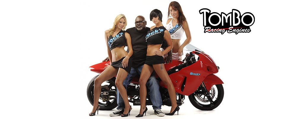 Tommy on red Hayabusa with girls