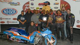 Tulsa Raceway Park- 1st race of the year – Runner-Up