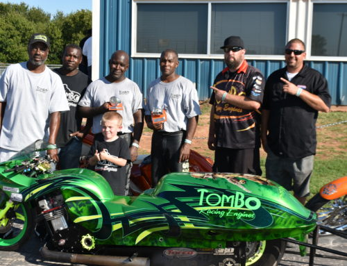 Tombo Throwdown in The Valley Winner's Circle