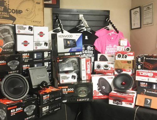 Now Tombo Racing Is Now Is Also The Place To Go For All Your Audio Needs.