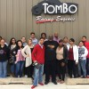 Justice Alma Wilson Seeworth Acadamy visits Tombo Racing