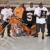 """The International Brotherhood of Street Racers presented Tombo with """"Outstanding Most Inspirational Drag Racer"""" Award!"""